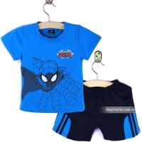 Bộ quần áo in hinh người nhện